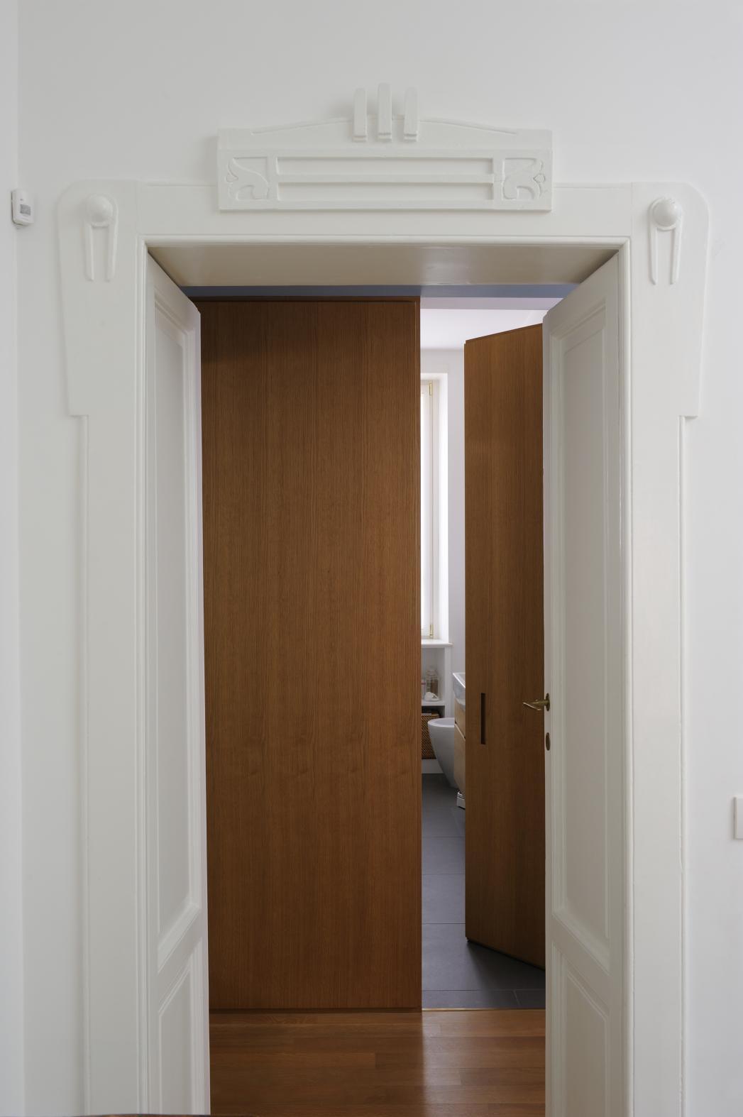 porta interna design legno trento - bonvecchio.it
